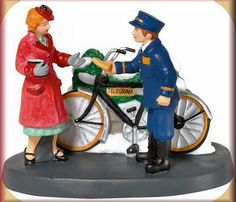 Your Telegram MA'Am New Department Dept 56 Christmas in The City Village CIC