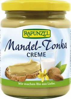 Rapunzel Mandel-Tonka Creme, 1er Pack (1 x 250 g) - Bio