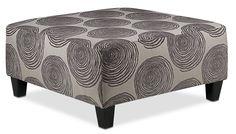 Living Room Furniture-Lana Ottoman