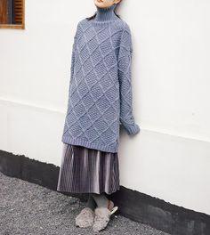 Long knit dress turtleneck pullovers  #dress #knitdress #knit #longsweaters #sweaters #winterdress #organic #loosedress