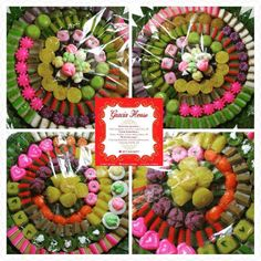 Tumpeng Kue Basah @gracia_catering Delivered to The Playground... #wedding #weddings
