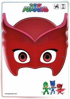 All Mommy Wants Printables - PJ Masks Owlette, Gekko, & Catboy Masks Disney Jr printables   All Mommy Wants Printables - PJ Masks Owlette, Gekko, & Catboy Masks Disney Jr printables