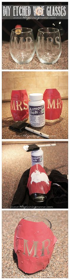 9 tutoriels super faciles pour décorer vos verres – Astuces de filles