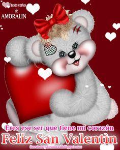Eres ese ser que tiene mi corazòn... feliz San Valentìn