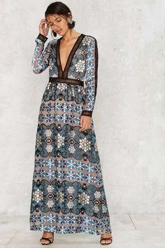 For Love & Lemons Juliet Silk Dress | Shop Clothes at Nasty Gal!