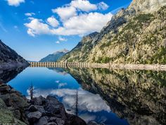 Cavallers reservoir by David Martín López on 500px