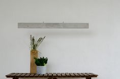 New lamp - Concrete Line. 120cm wide - LED based. Here in natural concrete colour.  #lighting #concrete #lamps