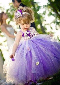 ALLURING PURPLE GIRLS DRESS FOR WEDDINGS & PARTY