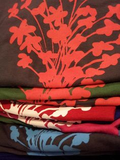Tshirts - Bamboo fibre with Jasmin bouquet
