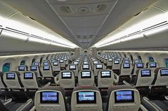 Air Canada's new Economy cabin on the 787-8 Dreamliner