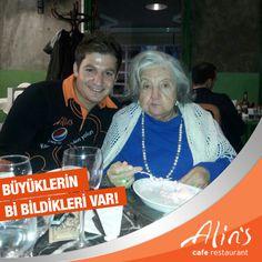 İşte karşınızda bu yılın en muhteşem Alins müdavimi :) Dile kolay 90. yaş gününü de Alins'te kutladı... Müdavimimizin doğum gününü kutlar sağlık ve mutluluk dolu bir yaş olmasını dileriz.