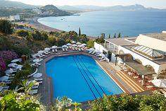 Rhodos Lindos Mare Hotel**** 98,3% Weiterempfehlung! 7 Tage im Doppelzimmer Halbpension Flug + Transfer Rail&Fly ab 922,- EUR Angebote & direkte Buchung: #Halbpension #Lindos Mare #Pauschalreisen #Rhodos #Special