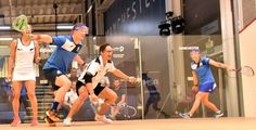August 3 2017 - Scottish pair Lisa Aitken and Douglas Kempsell surprise top mixed doubles seeds at World Squash Federation World Doubles Championships