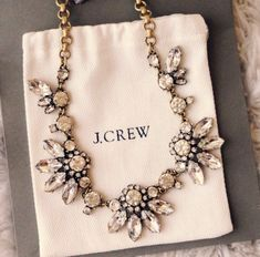 J Crew necklace   bling