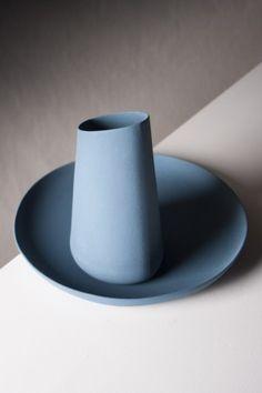 c level plate+carafe ocean blue4 lottederaadt