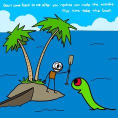 Take the boat