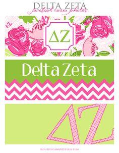 Delta Zeta Facebook Cover Photos from Jessica Marie Design