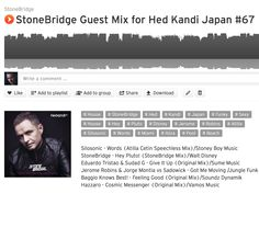 Check the new Hed Kandi Japan Mix #67 featuring the #Disney Hey Pluto track and heat from #Silosonic, Atilla Cetin, #Hazzaro, Jerome Robins and more #stonebridge #hedkandijapan #funky #sexy #house https://soundcloud.com/stonebridge/stonebridge-guest-mix-for-64
