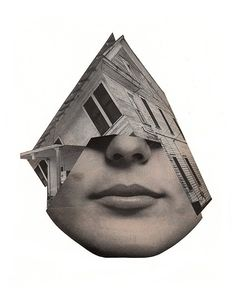 An architectural face lift. #collage