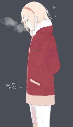 Anime: Naruto  Personagem: Uchiha Sakura