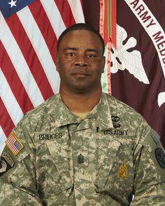 CSM Bridges,  Command Sergeant Major, Winn Army Community Hospital,  October 16, 2014