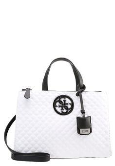 Guess LUX - Handtasche - blanc multi - Zalando.at Louis Vuitton Damier, Pattern, Bags, Handbags, Dime Bags, Lv Bags, Model, Purses, Patterns