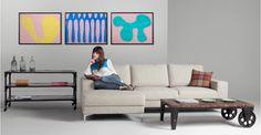 Bleu surréaliste 2011, 80 cm x 60 cm, édition limitée de Fieroza Doorsen