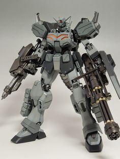 [Modelers-G] MG 1/100 Gundam Heavyarms EW - Painted Build