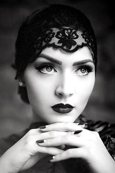 Idda van Munster, Aida Đapo, vintage, vintage girl, retro, woman, femininity, faces, b&w, gloves, fashion, veil, accessories, femme fatale, lady, girl, glamour, style, luxury, chic, black & white, hats