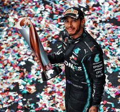 Lewis Hamilton, One Team, Formula One, First World, Motorcycle Jacket, Champion, Victorian Party, F1, Britain