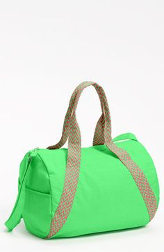 Lulu Neon Barrel Duffel Bag available at Nordstrom