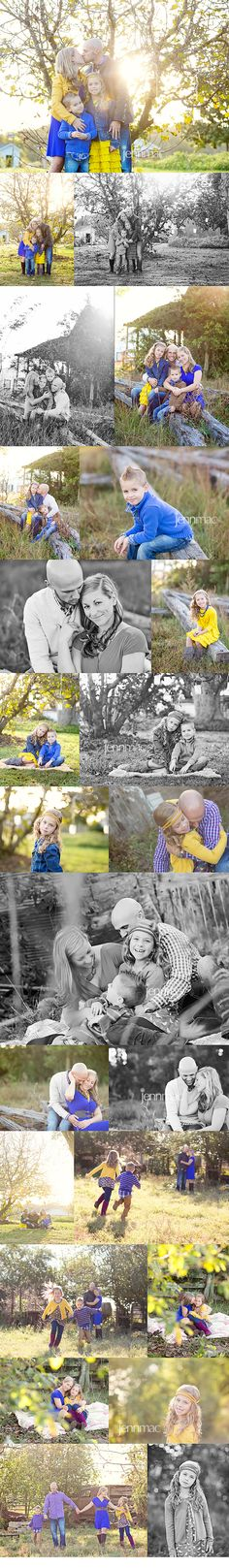 what to wear - families - family outfit inspiration blue, yellow