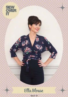 Sew Over It Ella Blouse Downloadable Pattern