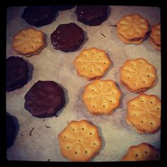 OMG Chocolate Covered Peanut Butter Crackers