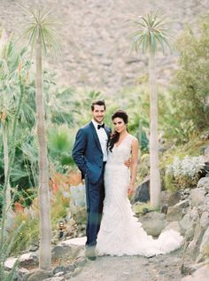 Days of Our Live's star Nadia Bjorlin's Palm Springs wedding: http://www.stylemepretty.com/little-black-book-blog/2016/07/13/soap-opera-stars-wedding-better-than-any-daytime-tv-love-story/ | Photography: Sarah Kate - http://sarahkatephoto.com/