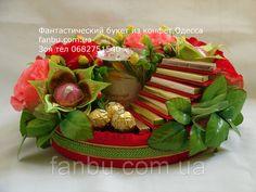 """Подарок из конфет для мамы""""Чашка с пожеланиями"""""""", фото 3"""