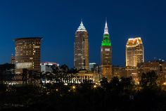 Green And Grey In Clevelad Ohio by Dale Kincaid