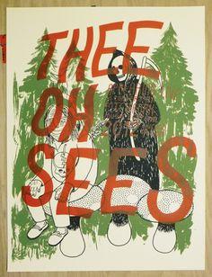 Thee Oh Sees @ Pitchfork 2012 by Ryan Duggan