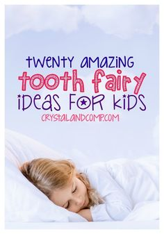 20 AMAZING tooth fairy ideas for kids. Love these!  I wish I would have thought of some of these amazingly  creative ideas!