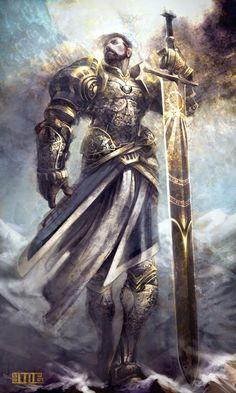Random Fantasy/RPG artwork I find interesting,(*NOT MINE) from Tolkien to D&D. Fantasy Male, Fantasy Armor, High Fantasy, Medieval Fantasy, Armadura Medieval, Dnd Characters, Fantasy Characters, Fantasy Character Design, Character Art
