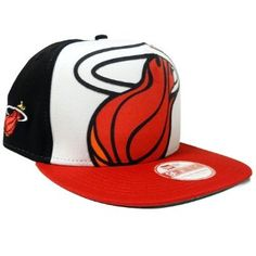 ff4eb05332c Miami Heat Big Flock Snapback Hat Cap New Era.  29.99