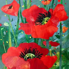 """Visit Georgetown Texas on Instagram: """"Announcing the winning 2021 Red Poppy Festival Poster Art by Helen Faythe Green!🙌 Isn't it beautiful?😍 Follow us for more information to…"""" Georgetown Texas, Festival Posters, Red Poppies, Photo And Video, Poppy, Vacations, Green, Painting, Beautiful"""
