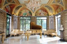 Cuneo Mansion and Garden Piano Room