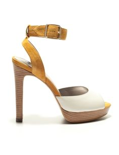 Cute color block platforms from the Limited!