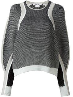 Shop Helmut Lang converging panel sweater in Bernard from the world's best independent boutiques at farfetch.com. Over 1000 designers from 60 boutiques in one website.
