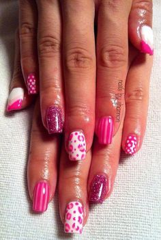 'cutepolish' design inspiration done with Gelish!   #gelish #cutepolish #gelpolish