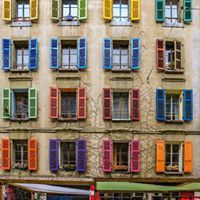 Colourful windows !!