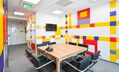 罗马尼亚ING Bank银行办公室设计欣赏( DESIGN³设计创意 拼图详情页 设计时代