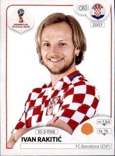 Ivan Rakitić - Croatia World Cup Russia 2018, World Cup 2018, Fifa World Cup, Uefa Football, Sport Football, Soccer Cards, Football Cards, Ivan Rakitic, Football Updates
