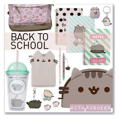 """""""#PVxPusheen"""" by funkytalk ❤ liked on Polyvore featuring Pusheen, Boohoo, claire's, Gund, contestentry and PVxPusheen"""